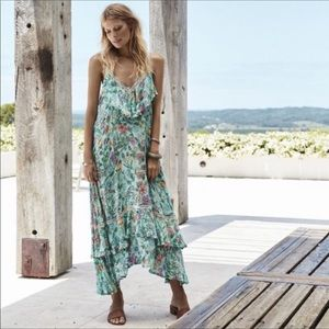 Spell and collective Sayulita Frill dress